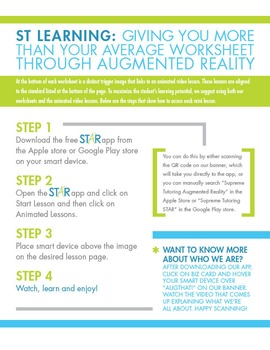 Back to School - Augmented 4th Grade English Worksheet - Characters