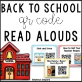 Back to School August QR Code Read Alouds