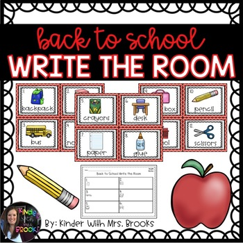 Back to School/August Write the Room
