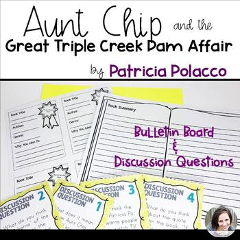 Back to School - Aunt Chip/Patricia Polacco Book Recommendation Bulletin Board