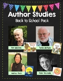 Back to School Author Study Pack