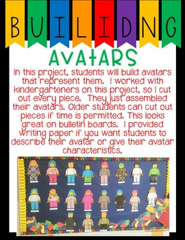 Back to School Avatar and Building Math
