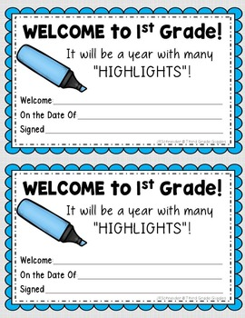 Back to School Awards Free