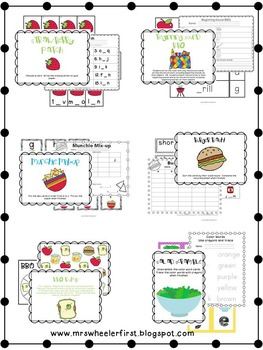 First Grade Centers: Back to School