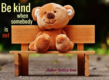 Back to School BE KIND Poster