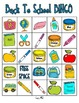 Back to School BINGO Pack