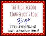 Back to School BINGO for High School Counselors