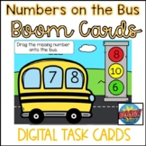 Back to School BOOM Cards- Missing Numbers on the Bus