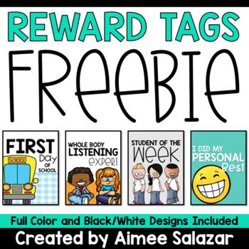 Back to School Reward Tags {Freebie}