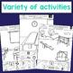 Back to School (BTS) ARTICULATION - Print & Go Craft Activity