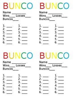 photo regarding Bunco Rules Printable identify Bunco Worksheets Instruction Materials Instructors Fork out Lecturers