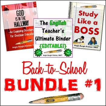 Back-to-School BUNDLE #1