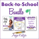 Back-to-School BUNDLE #1 {Binder, Devotional, Icebreakers,
