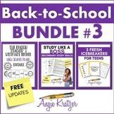 Back-to-School BUNDLE #3 {Binder, Icebreakers, Study Skills}