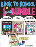 Back to School BUNDLE 1st Grade