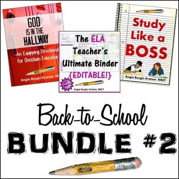 Back-to-School BUNDLE #2