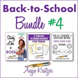 Back-to-School BUNDLE #4 {Binder, Icebreakers, Study Skills}