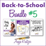 Back-to-School BUNDLE #5 {Binder, Icebreakers, Study Skills}