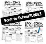 Back to School BUNDLE   Activities, Handouts, and Skills W
