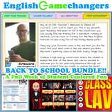 Back to School BUNDLE: A Full Week of Activities in a Read