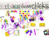 Bright Colors Back to School BUNDLE:Hi Res Images for Blog