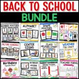 Back to School BUNDLE - Pre-K, Preschool