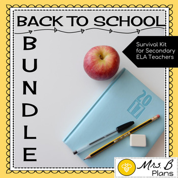 Back to School BUNDLE: Survival Kit for Secondary ELA
