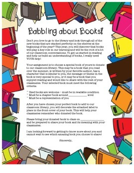 Back to School - Babbling about Books!