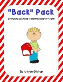 """Back"" Pack: Back to School Forms and Printables"