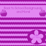 Back to School Backgrounds and More!