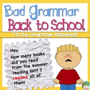 Back to School Bad Grammar