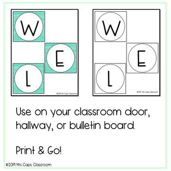 Back-to-School Welcome Back Lettering