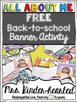 Back to School Banner Activity