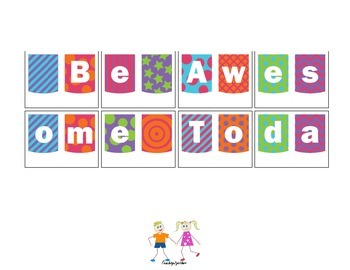 Back to School Banner: Be Awesome Today