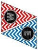 """Back to School Banner- """"Welcome to First Grade!""""- Primary Chevron and Chalkboard"""