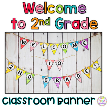 Back to School Banner 2nd Grade