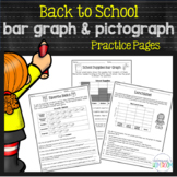 Back to School Bar Graphs & Pictographs