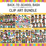 Back to School Bash Clip Art Bundle {Back to School Clip Art}