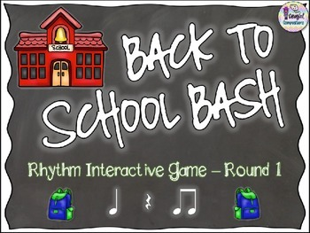 Back to School Bash - Round 1 (Ta/Rest and Ti-Ti)