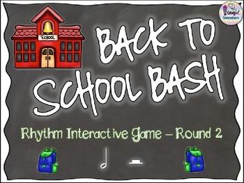 Back to School Bash - Round 2 (Half Note/Half Rest)