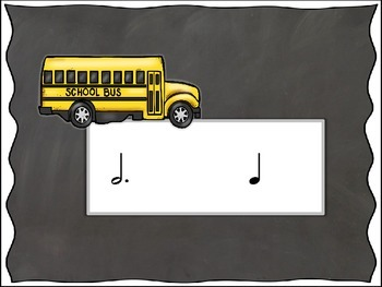 Back to School Bash - Round 5 (Dotted Half Note and Whole Note/Rest)