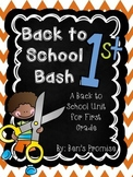 Back to School Bash for First Grade!
