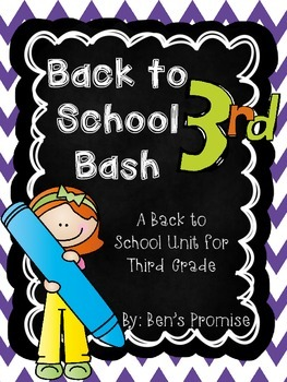 Back to School Bash for Third Grade!