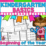Beginning of the Year Basics! Printables for the First Few