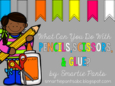 Back to School: Scissor, Glue and Pre-writing Skill Pack