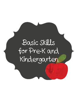 Back to School Basic Skills