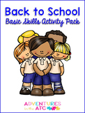 Back to School Basic Skills Activity Pack