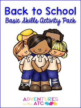 Back to School Basic Skills Activity Pack