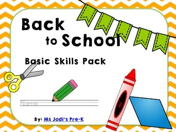 Back to School Basic Skills Pack