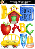 """""""Back to School Basics"""" Clipart Images [Marie Cole Clipart]"""